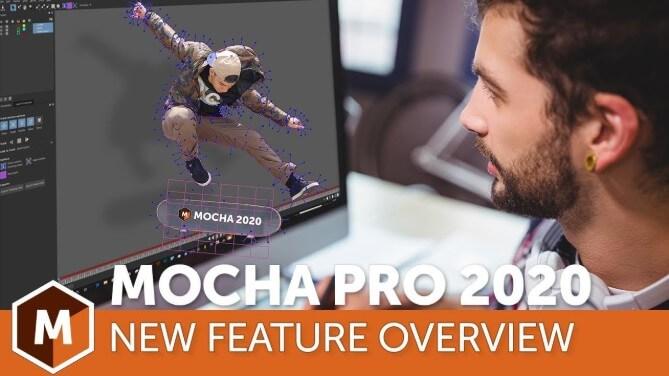 Boris FX Mocha Pro 2020 v7.0.2 专业摄像机反求物体移除平面跟踪软件 软件-第1张