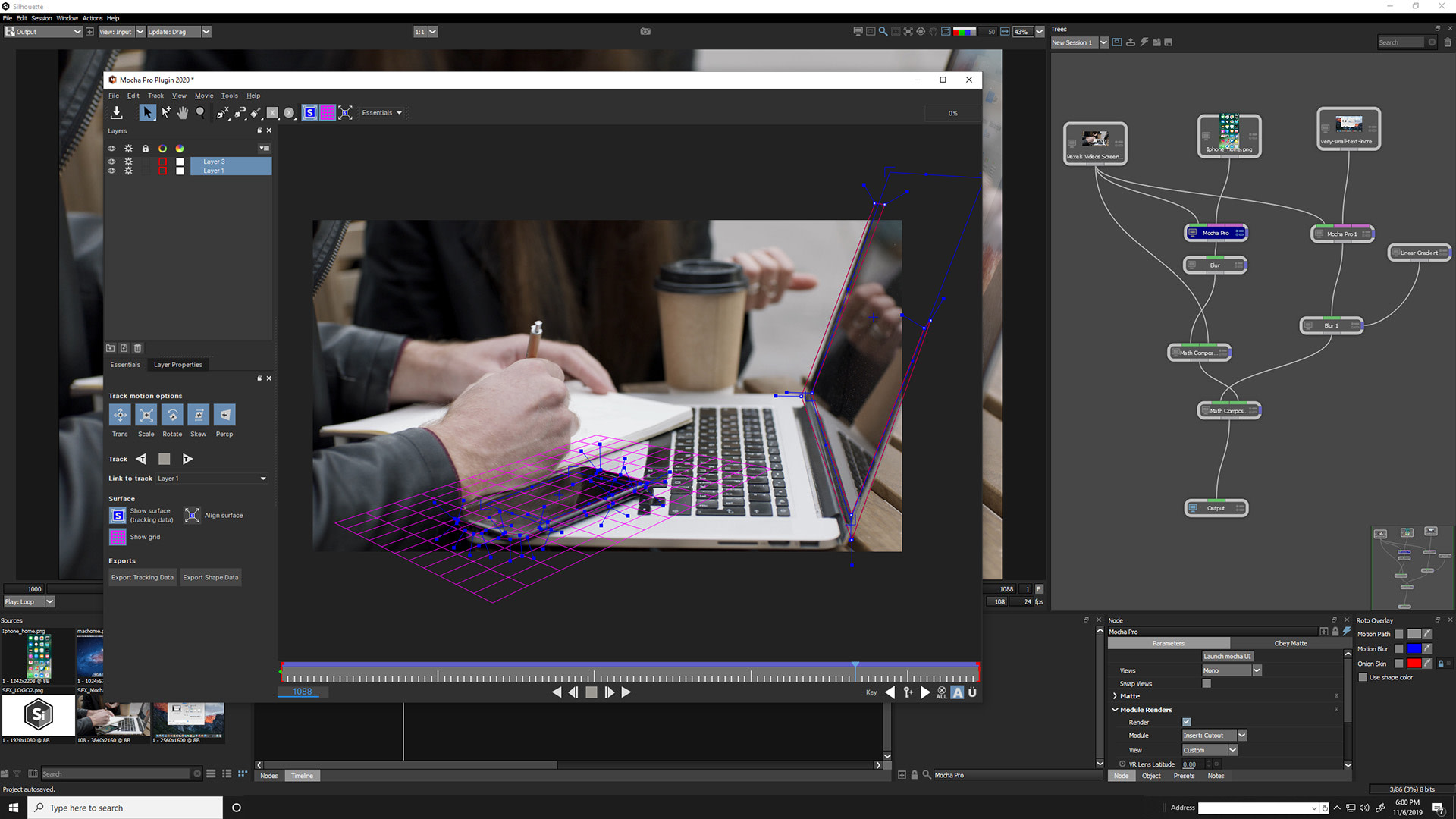 专业影视抠像Roto威亚擦除软件 Boris FX Silhouette 2020.0.3 Win x64 软件-第9张